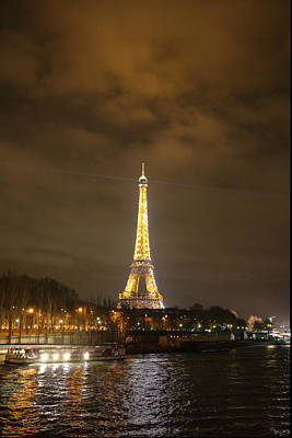 Steel Photograph - Eiffel Tower - Paris France - 011343 by DC Photographer