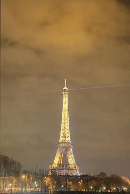 Steel Photograph - Eiffel Tower - Paris France - 011351 by DC Photographer
