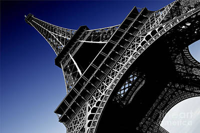 Eiffel Tower Original by Sergio Verrecchia