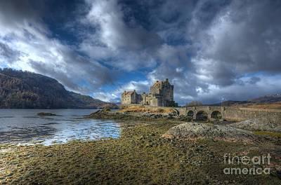 Eilean Donan Castle Scotland Print by John Kelly