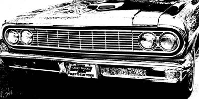 El Camino Grill Print by Chris Berry