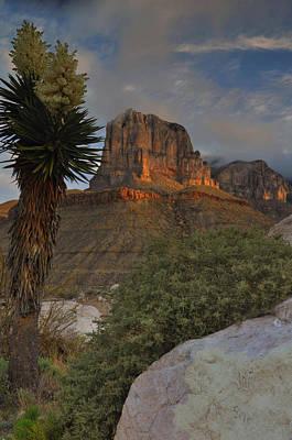 El Capitan At Sunrise Print by Stephen  Vecchiotti