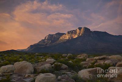 West Texas Photograph - El Capitan Sunset by Keith Kapple
