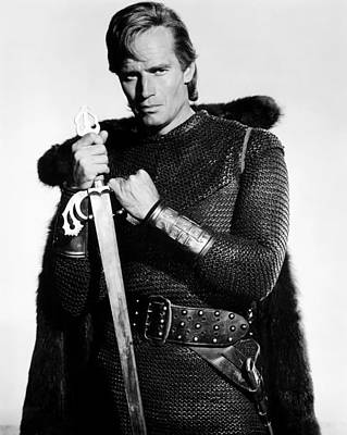 El Cid, Charlton Heston, 1961 Print by Everett