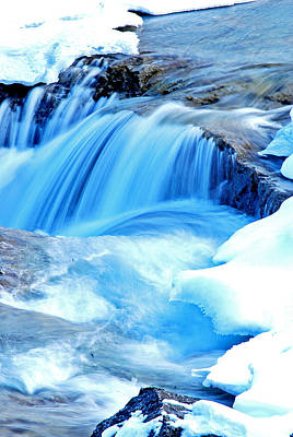 Alberta Photograph - Elbow Falls by Laura Strain