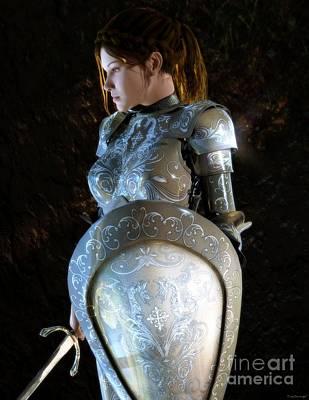 Duchess Digital Art - Eleanor Duchess Of Aquitane And Countess Of Poitou by Gabor Gabriel Magyar - Forgottenangel