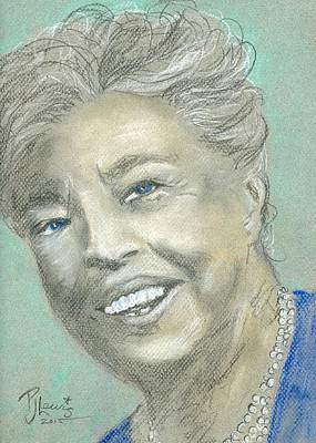 Eleanor Roosevelt Original by P J Lewis
