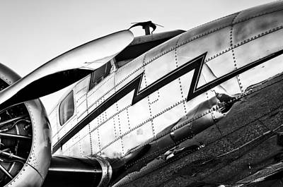 Electra In Black And White Print by Chris Buff