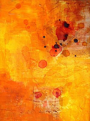 Tangerines Painting - Electric Chaos by Nancy Merkle