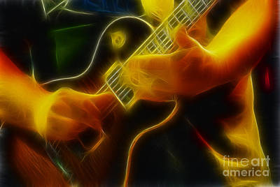 Electric Slide Fractal Print by Gary Gingrich Galleries