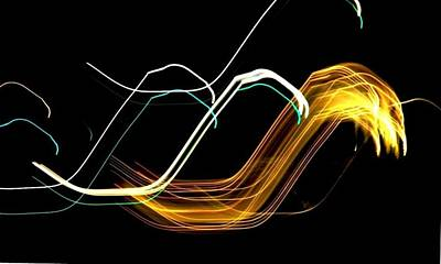 Photograph - Electric Waves by Stefano Filesi