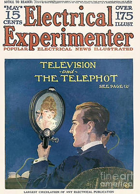 10s Drawing - Electrical Experimenter  1918 1910s Usa by The Advertising Archives