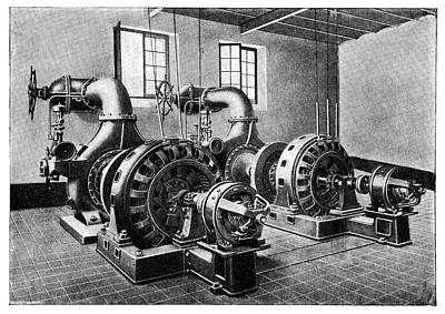 Electrical Generators Print by Science Photo Library