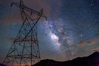 Power Photograph - Electrifying by Cat Connor