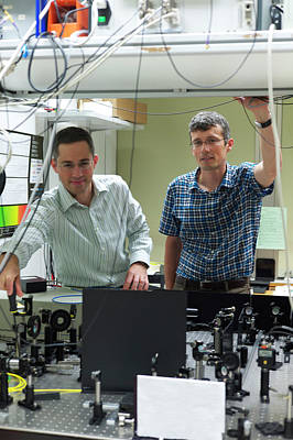 Electron Spin Observations Print by Ibm Research