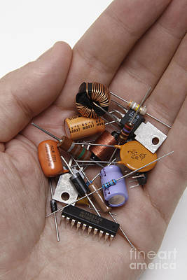 Component Photograph - Electronic Components by GIPhotoStock