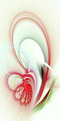 Simplicity Mixed Media - Elegance by Anastasiya Malakhova