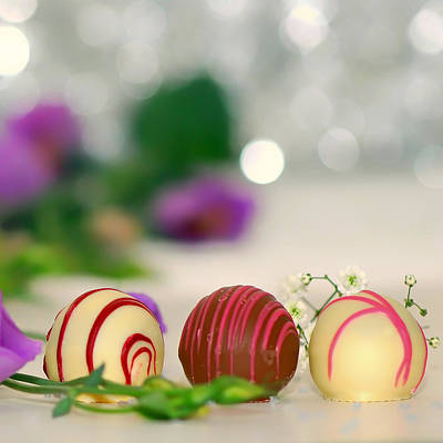 Special Occasion Photograph - Elegant Chocolates by Mountain Dreams