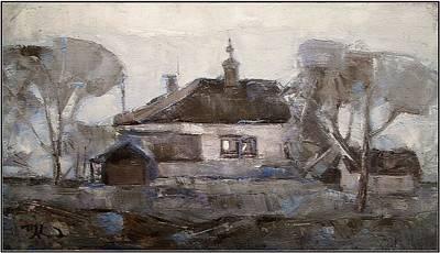 Landscape Painting - Elegiac Landscape Ell1 by Pemaro