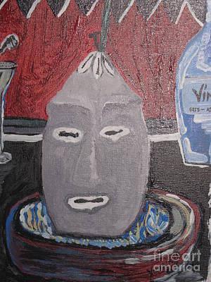 Yoruba Painting - Elegua Alaguana by Yoandy Rodriguez