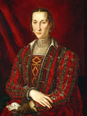 Eleonora Painting - Eleonora Di Toledo by Agnolo Bronzino