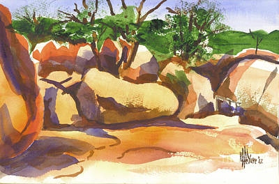 Elephant Rocks Revisited I Print by Kip DeVore