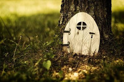 Elf Photograph - Elf Door by Lori Coleman