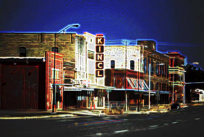 Elgin Old Town Street Original by Linda Phelps
