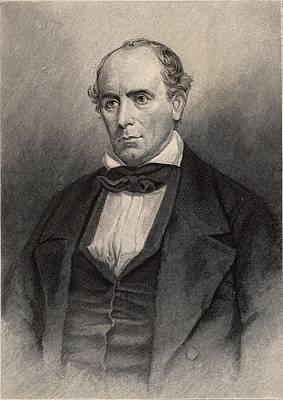 1835 Photograph - Elisha Mitchell American Naturalist by Universal History Archive/uig
