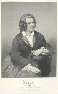Eliza Photograph - Eliza Cook by British Library