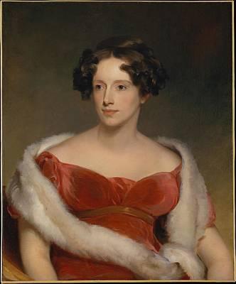 Eliza Painting - Eliza Falconer Bradish by Celestial Images