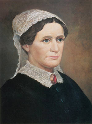 American First Lady Painting - Eliza Johnson, First Lady by Science Source