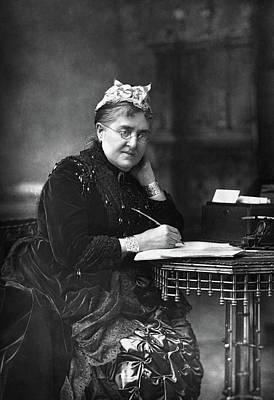 Eliza Photograph - Eliza Lynn Linton (1822-1898) by Granger