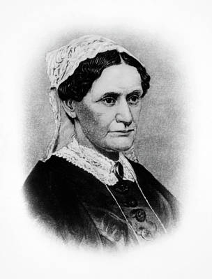 American First Lady Painting - Eliza Mccardle Johnson (1810-1876) by Granger