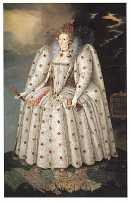 Marcus Painting - Elizabeth I Of England by Marcus Gheeraerts the Younger