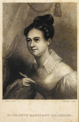 Elizabeth Margaret Chandler Print by British Library