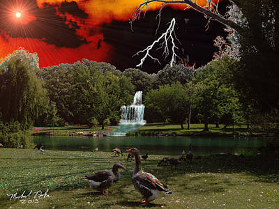 Elizabeth Park Original by Michael Rucker