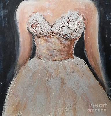 Painting - Lacey Dress by Vicki Wynberg