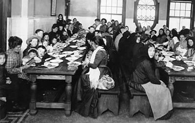 Babushka Photograph - Ellis Island, C1906 by Granger