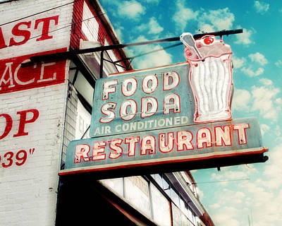 Extra Large Photograph - Elliston Place Soda Shop by Amy Tyler