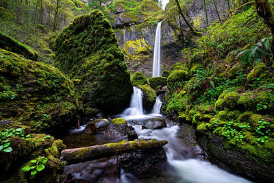 Oregon Photograph - Elowah Falls by Dustin  LeFevre