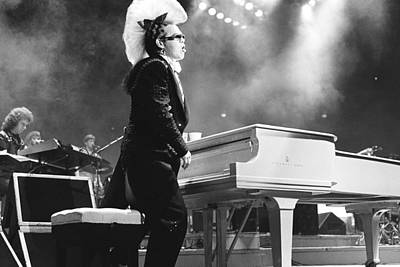 Elton John Photograph - Elton John #2 by Chris Deutsch