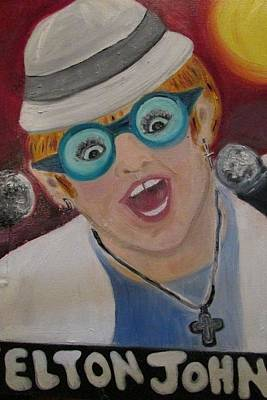 Elton John Original by Debby Reid