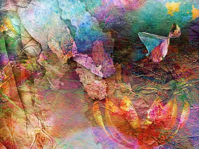Fantasie Painting - Elusive Dreams Part Two by Jacky Gerritsen