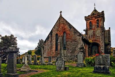 Architectural Photograph - Elvanfoot Parish Church by Marcia Colelli