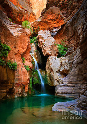 Grand Canyon Photograph - Elves Chasm by Inge Johnsson