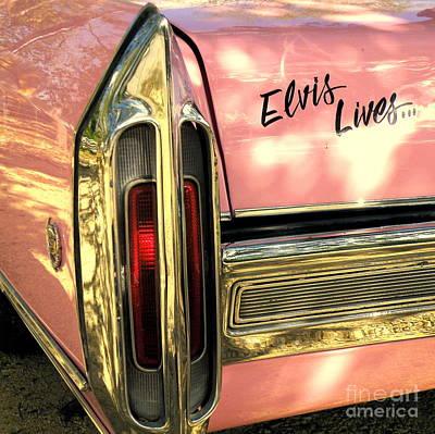 Elvis Lives Print by Joe Jake Pratt