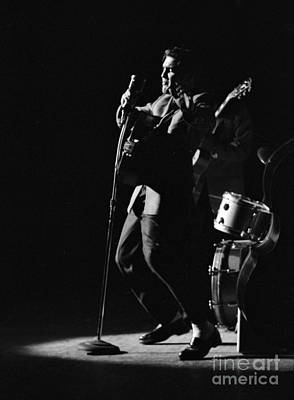 Singer Photograph - Elvis Presley In Detroit 1956 by The Phillip Harrington Collection