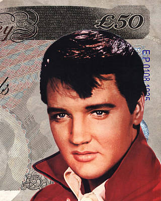 Elvis Presley Digital Art - Elvis Presley by Unknown