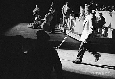Elvis Presley With An Orchestra 1956 Print by The Phillip Harrington Collection